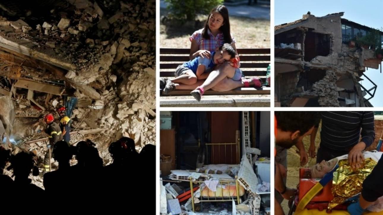 Ιταλία: 250 οι νεκροί - Σκάβουν για ελπίδες - Ερευνούν για ευθύνες