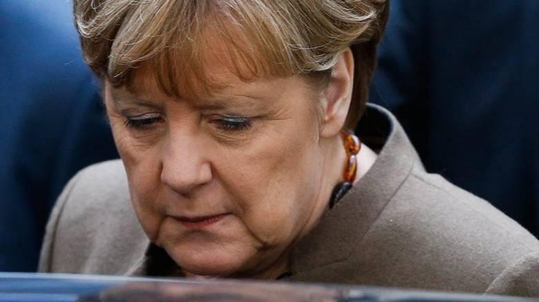 Πράγα: Έφραξε τον δρόμο της Μέρκελ
