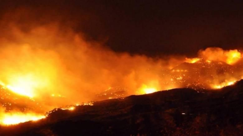 Πυρκαγιά στη Χίο - Σε κρίσιμη κατάσταση ηλικιωμένη με εγκαύματα (vid - aud)