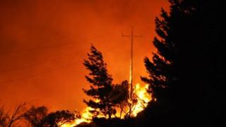 Πυρκαγιά στη Χίο: Τι λένε Δήμαρχος και Αντιπεριφερειάρχης για την εξέλιξη της φωτιάς