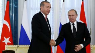 Συμφωνία Πούτιν - Ερντογάν για ανθρωπιστική βοήθεια στο Χαλέπι
