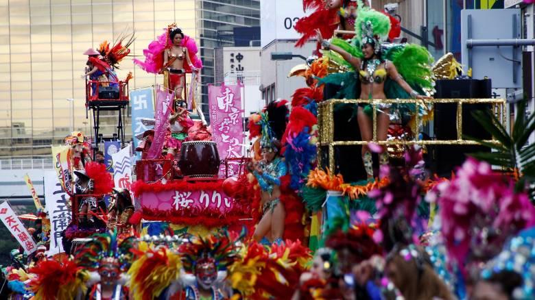 Το βραζιλιάνικο καρναβάλι της Ιαπωνίας