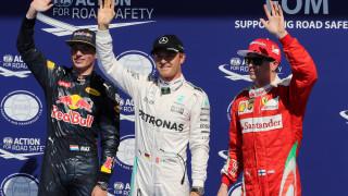 F1: pole position για τον Νίκο Ρόσμπεργκ, τελευταίος ξεκινά ο Χάμιλτον στο Βέλγιο