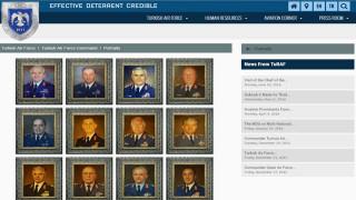 Ξήλωσαν τη φωτογραφία του Οζτούρκ από τη λίστα των αρχηγών της τουρκικής πολεμικής αεροπορίας