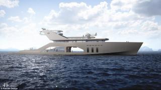 Πολυτέλεια υψηλών προδιαγραφών στη θάλασσα με το υπερ-γιοτ νέας γενιάς