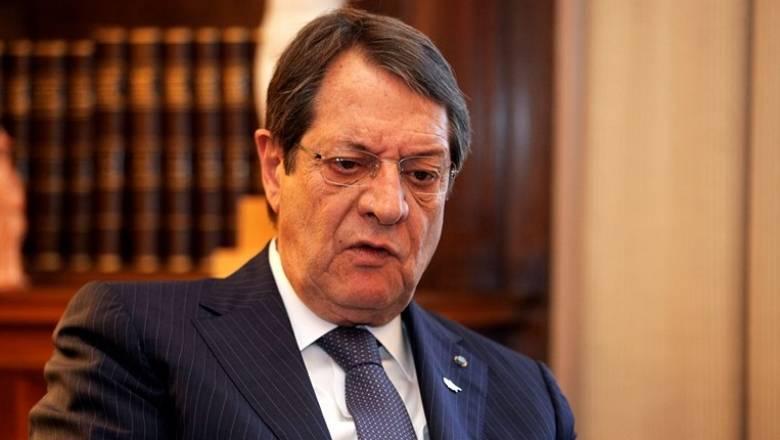 Αναστασιάδης: Αποχή από τις δηλώσεις κατά την περίοδο διαπραγμάτευσης
