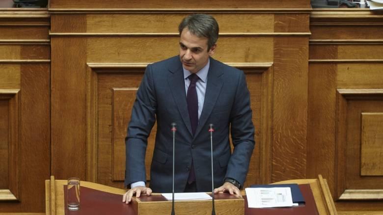 Μητσοτάκης: «Η κυβέρνηση είναι αδύναμη να εγγυηθεί τον νόμο και την τάξη»