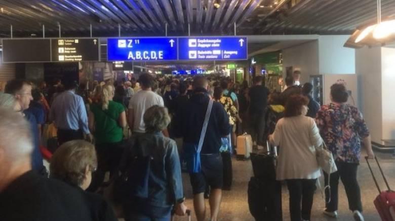 Λήξη συναγερμού στο αεροδρόμιο της Φρανκφούρτης (pics&vid)