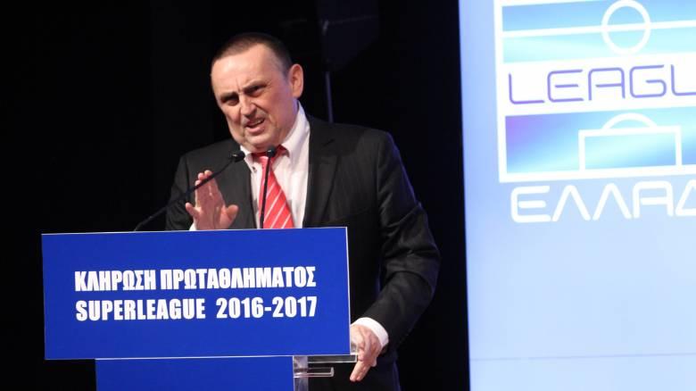 Επιστροφή του Γιώργου Στράτου στον προεδρικό θώκο της Super League