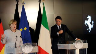 Μέρκελ–Ρέντσι: Επιτελέστηκε πρόοδος σε ό,τι αφορά το μεταναστευτικό