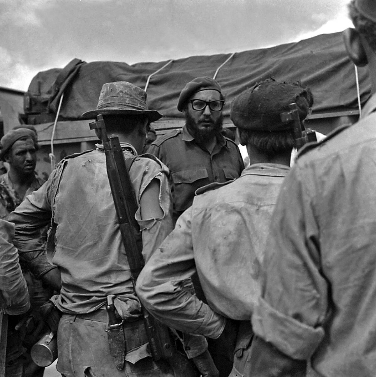 Fidel Castro Bay of Pigs 1961