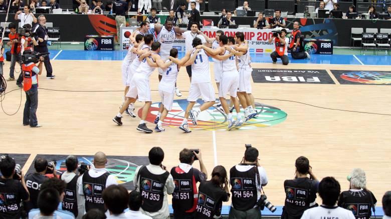 10 χρόνια από τη νίκη της εθνικής μπάσκετ επί της Dream Team των ΗΠΑ στην Ιαπωνία