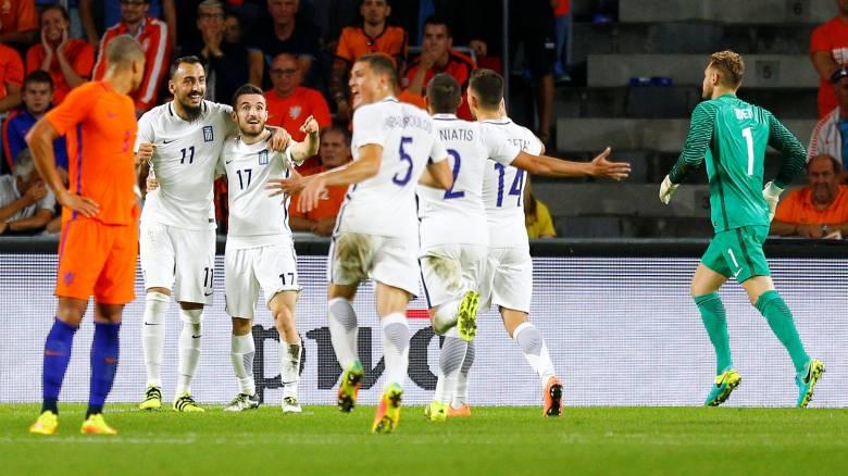 """Ιστορική πρώτη νίκη επί της Ολλανδίας για την εθνική ομάδα, που δείχνει ότι """"επιστρέφει"""""""