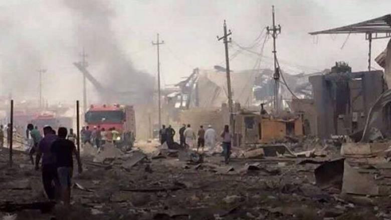 Βαγδάτη: Πυρκαγιά σε αποθήκη όπλων πυροδότησε ρουκέτες-Τέσσερις νεκροί