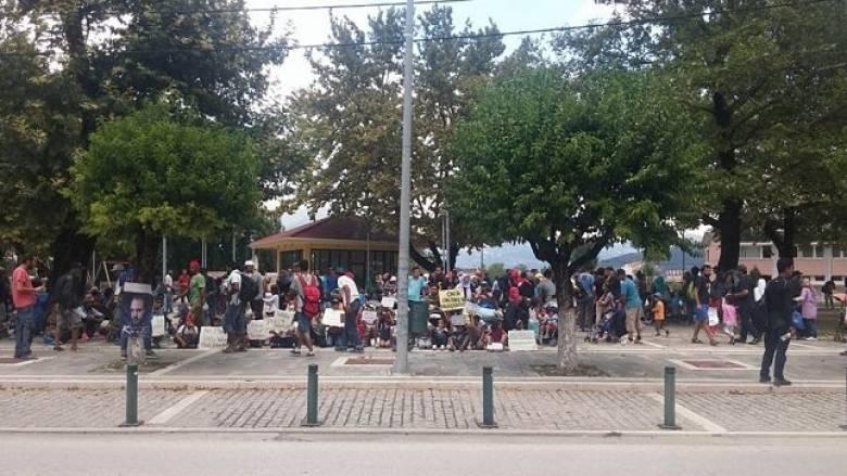 Ιωάννινα: Τεταμένη η κατάσταση στον καταυλισμό προσφύγων στον Κατσικά