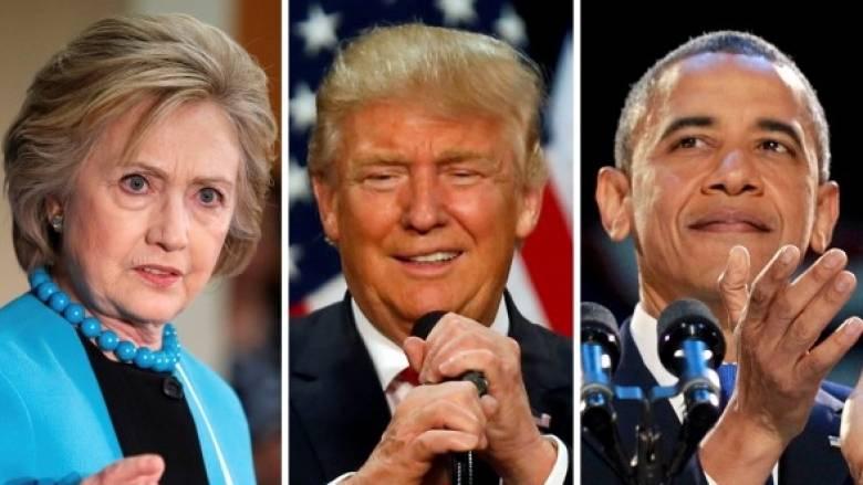 Ανακοινώθηκαν τα ονόματα των παρουσιαστών στα τρία τηλεοπτικά ντιμπέιτ Τραμπ–Κλίντον