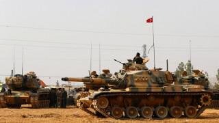 Συρία: Σφυροκόπημα κατά θέσεων του ISIS από τον τουρκικό στρατό