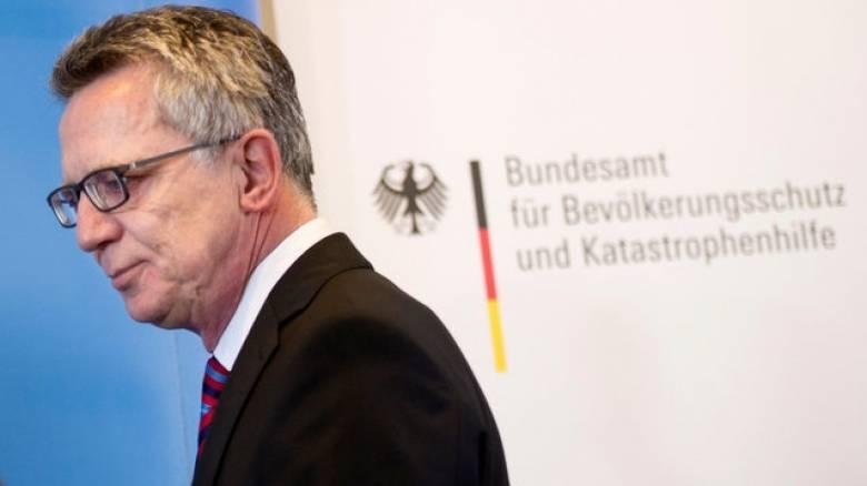 Γερμανική ΜΚΟ για τους πρόσφυγες καταδικάζει τις δηλώσεις του Ντε Μεζιέρ