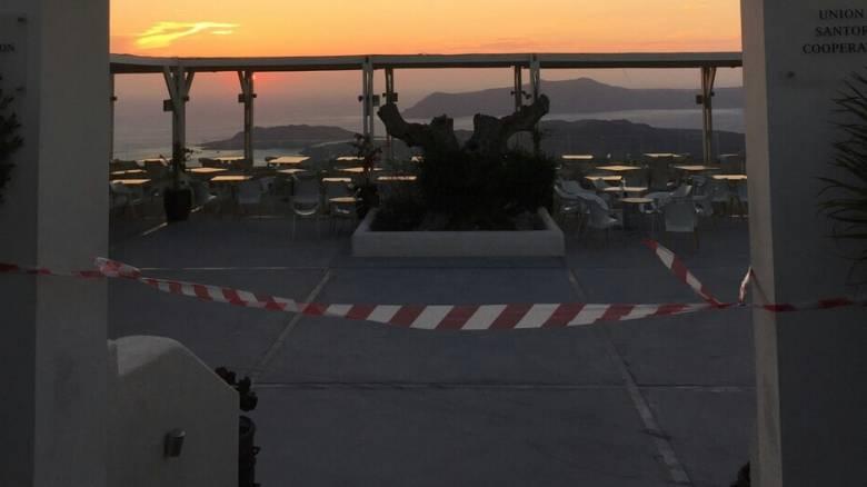 ΓΓΔΕ: Λουκέτο σε επιχείρηση συνεταιρισμού στη Σαντορίνη
