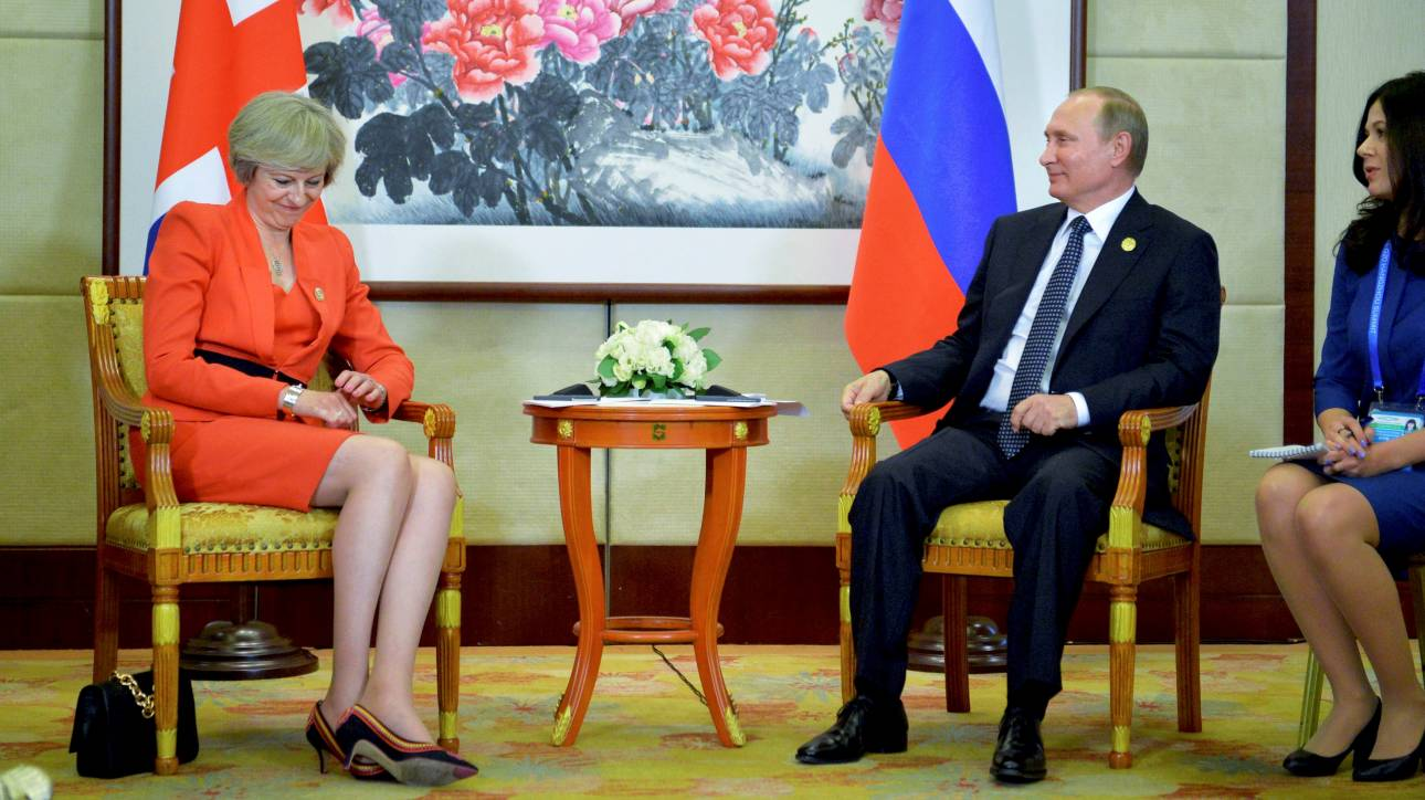 Πρώτη συνάντηση των Πούτιν–Μέι στο περιθώριο της συνόδου των G20