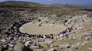 Αρχαίο Θέατρο Δήλου: Προσφυγιά και πόλεμος 2100 χρόνια μετά