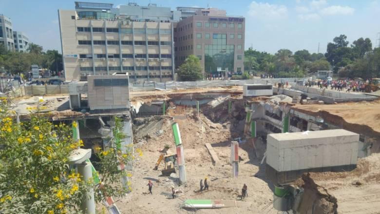 Τελ Αβίβ: Εργοτάξιο κατέρρευσε μετά από πτώση γερανού - Φόβοι για πολλούς νεκρούς (pics&vid)