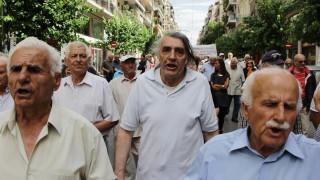 Διαμαρτυρία συνταξιούχων για τον «αφανισμό» των ίδιων και των οικογενειών τους