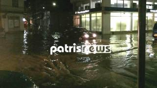 Κακοκαιρία Δυτική Ελλάδα: Ισχυρές καταιγίδες έπληξαν την Ηλεία (pics+vid)
