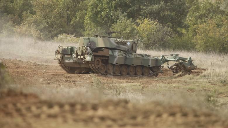 Νεκρός στρατιωτικός σε άσκηση στη Μυτιλήνη