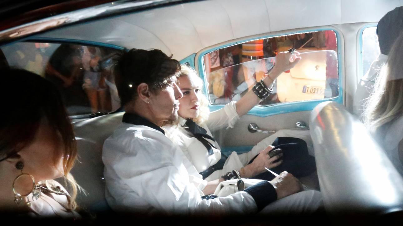Η Μadonna και ο Γκάι Ρίτσι κάνουν εκεχειρία για τον έφηβο γιο τους, Ρόκο