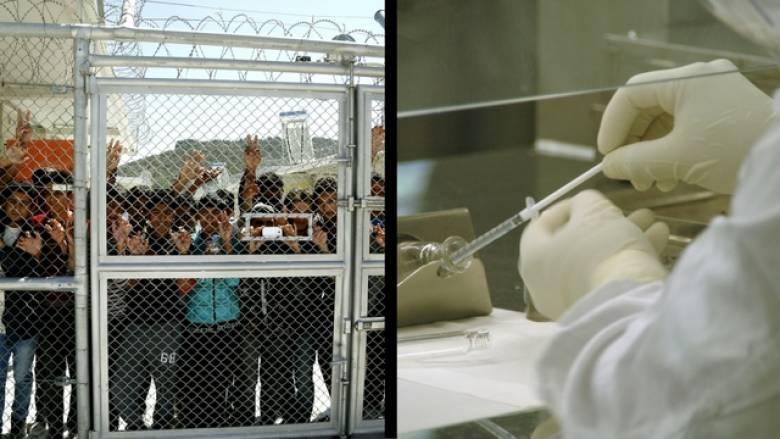 Υπουργείο Υγείας: εμβολιάζουμε κανονικά τα προσφυγόπουλα