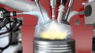 H Bosch αντικαθιστά τη βενζίνη με νερό και μειώνει την κατανάλωση έως και 13%
