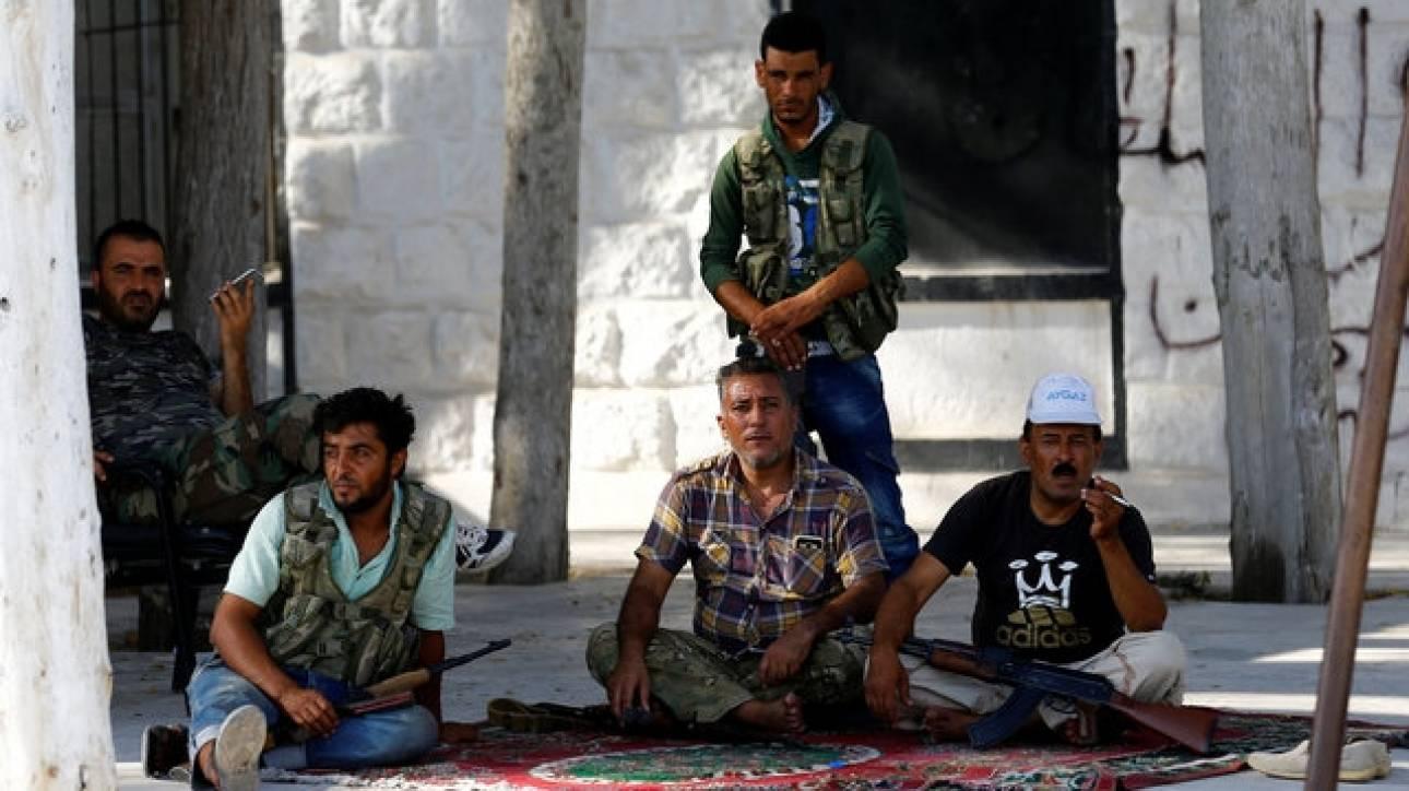 Ο τουρκικός στρατός κατέλαβε τέσσερις περιοχές στη Συρία