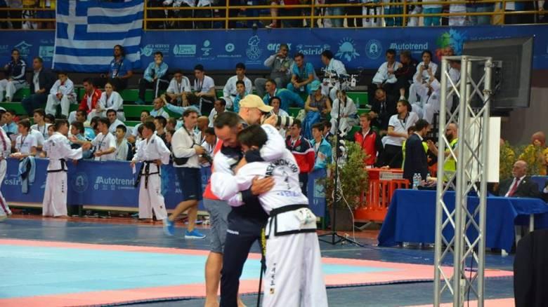 Χρυσός ο Μαρίνης στο Παγκόσμιο πρωτάθλημα εφήβων-νεανίδων Taekwondo ITF