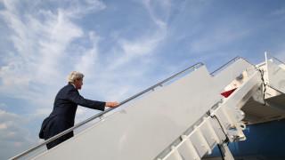 Ο Τζον Κέρι αναχώρησε για τη Γενεύη όπου θα έχει συνομιλίες με τον Σεργκέι Λαβρόφ
