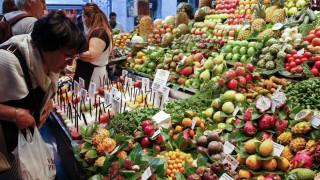 Σε υψηλά 15 μηνών οι τιμές των τροφίμων διεθνώς