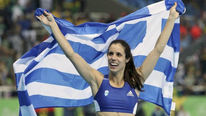 Καλύτερη αθλήτρια στίβου για τον Αύγουστο η Κατερίνα Στεφανίδη