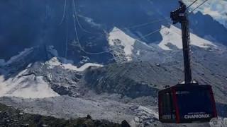Διασώθηκαν τουρίστες που πέρασαν όλη τη νύχτα στα τελεφερίκ του Mont Blanc (vid)