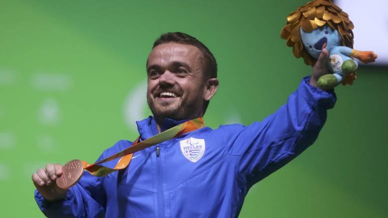 Παραολυμπιακοί 2016: στην 3η θέση του τελικού των 54 κιλών στην Άρση Βαρών ο Μπακοχρήστος