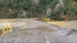 Κλειστός ο δρόμος Λαμίας-Καρπενησίου λόγω κακοκαιρίας