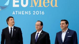 Ευρωμεσογειακή Σύνοδος: Ιδιαίτερα ικανοποιημένος έφυγε ο Ρέντσι από την Αθήνα