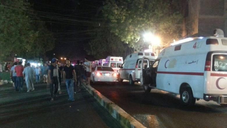 Βαγδάτη: Διπλή βομβιστική επίθεση του ISIS σε εμπορικό κέντρο