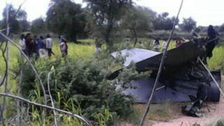 Συντριβή μαχητικού αεροσκάφους στη Ινδία