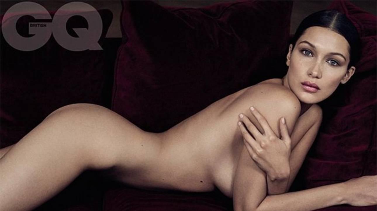 Γυμνή μαχήτρια: Η Bella Hadid, μοντέλο της χρονιάς για το GQ