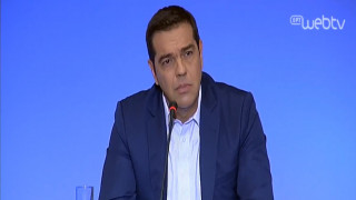 Συν. Τύπου Τσίπρα στη ΔΕΘ: Οι εκλογές, ο ανασχηματισμός, το χρέος και η γραβάτα
