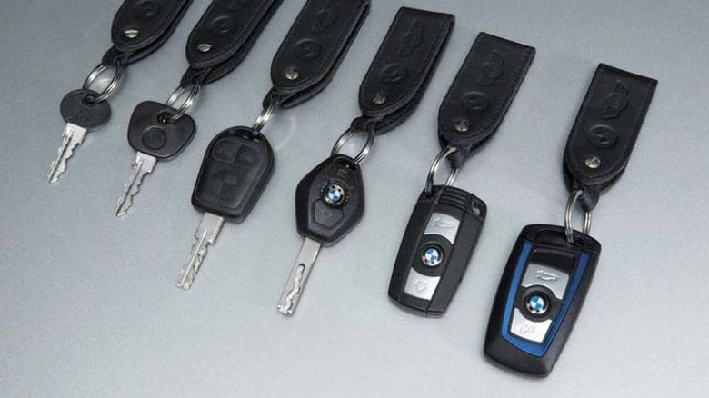 Δείτε το παρελθόν, το παρόν και το μέλλον των κλειδιών των αυτοκινήτων