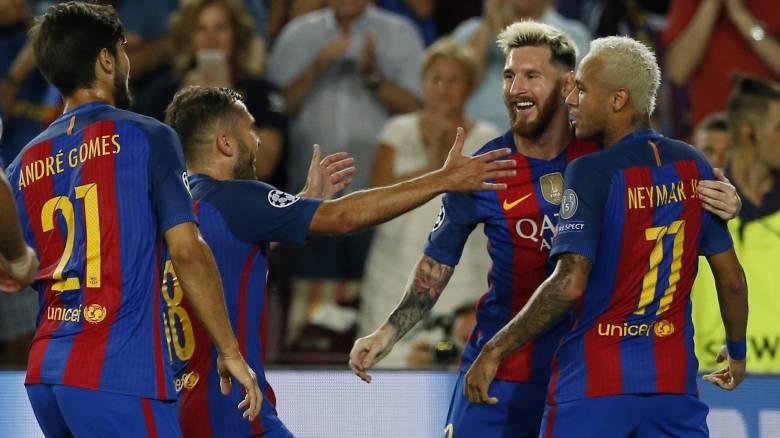 Champions League: Μπαρτσελόνα και Μπάγερν σκόραραν κατά βούληση