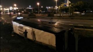 Iσπανία: Ανατροπή τουριστικού λεωφορείου με 24 τραυματίες
