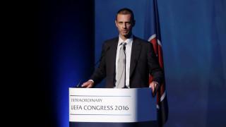 Με άνετη πλειοψηφία ο Αλεξάντερ Τσέφεριν εξελέγη νέος πρόεδρος της UEFA