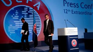 Οι πρώτες δηλώσεις του νέου προέδρου της UEFA, αναφορά και στην Ελλάδα